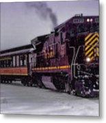 Rio Grande Scenic Railroad Metal Print by Ellen Heaverlo