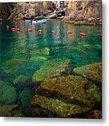 Riomaggiore Bay Metal Print