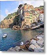 Riomaggiore Cinque Terre - Italy Metal Print