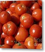 Ripe Tomatoes Metal Print