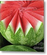 Ripe Watermelon Metal Print