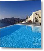 Ripples Metal Print by Aiolos Greek Collections