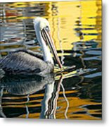 Ripples And Reflections 2 Metal Print