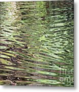 Ripples On Florida River Metal Print