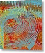 Rippling Colors No 1 Metal Print