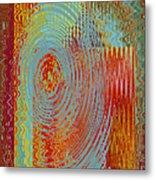 Rippling Colors No 3 Metal Print