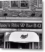 Rippy's Ribs And Bar Bq Metal Print by Dan Sproul