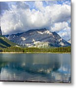 Rising Of The Storm Metal Print by Laura Bentley