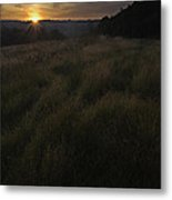 Rising Over The Hills Metal Print