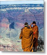 Risk-taking At The Grand Canyon Metal Print