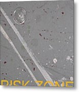 Risk Zone Metal Print