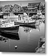 Risky Business After Five Bw Metal Print