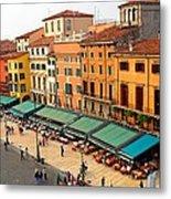 Ristorante Olivo Sas Piazza Bra Metal Print