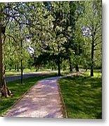 Ritter Park Paths Metal Print