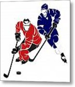 Rivalries Senators And Maple Leafs Metal Print