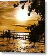 River Acres Jaynes Sunset Metal Print