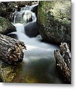 River And Rocks Metal Print
