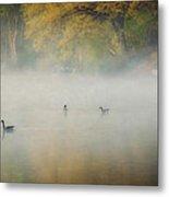 River At Sunrise Metal Print