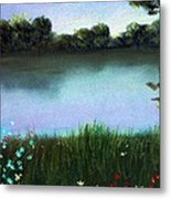River Bank Metal Print
