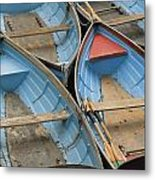 River Boats Metal Print