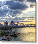 River City - D008587 Metal Print