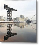 River Clyde Reflections Metal Print
