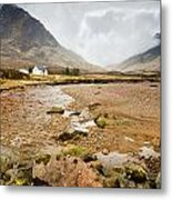 River Coupall In Glen Coe Metal Print