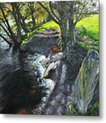 River Dee At Rhug Metal Print