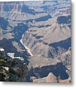 River Deep - Mountain High - Grand Canyon And Colorado River Metal Print