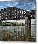 River Ferry Metal Print