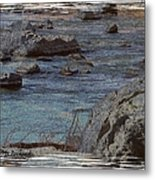 River Flows Metal Print