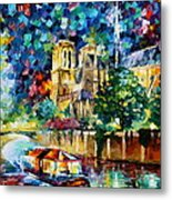 River In Paris Metal Print