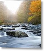 River In Tennessee Metal Print by Nian Chen