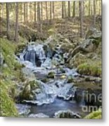 River In The Mountain Metal Print