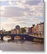 River Liffey 2 - Dublin Metal Print