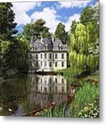 River Mansion Metal Print by Dominic Davison