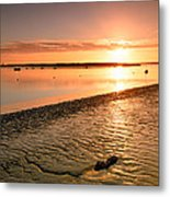 River Medway Sunrise IIi - Nuclear Explosion Metal Print