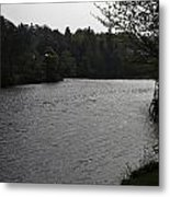 River Ness Near The Ness Islands In Inverness In Scotland Metal Print