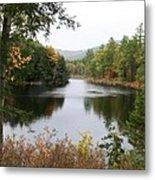 River North Conway Metal Print