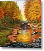 River Of Colors Metal Print