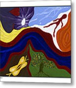 River Of Life #2 Metal Print