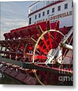 River Paddle Steamer Metal Print