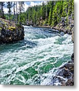 River Power Metal Print