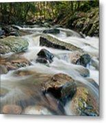 River - Rapids Above Kent Falls Metal Print