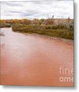 River Red New Mexico Metal Print