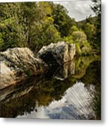 River Reflections II Metal Print