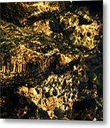 River Rock Reflections Metal Print