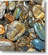 River Rocks 14 Metal Print