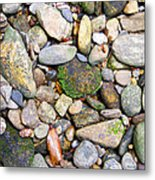River Rocks 2 Metal Print