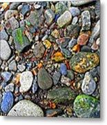 River Rocks 22 Metal Print